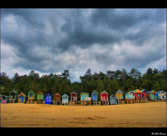 Beach Huts - Wells-next-the-Sea