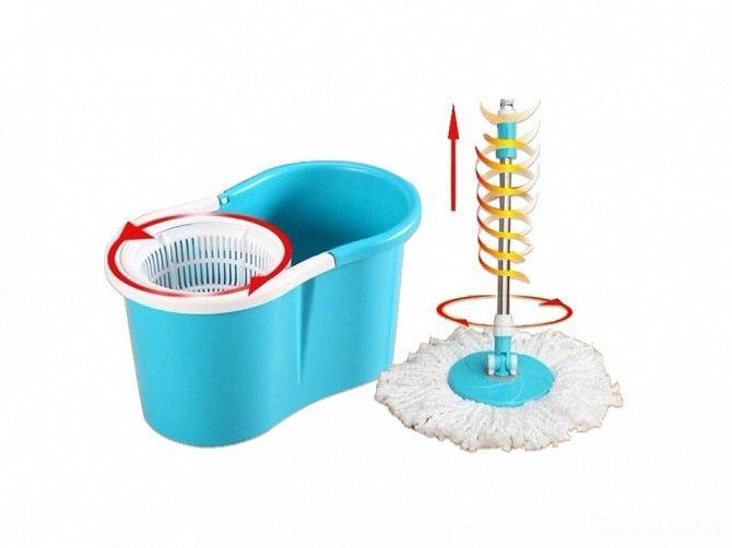 Вам не нравится такое занятие, как мытье полов? С новой шваброй Magic Mop Вы забудете об изнурительных отжиманиях швабры или половой тряпки,...