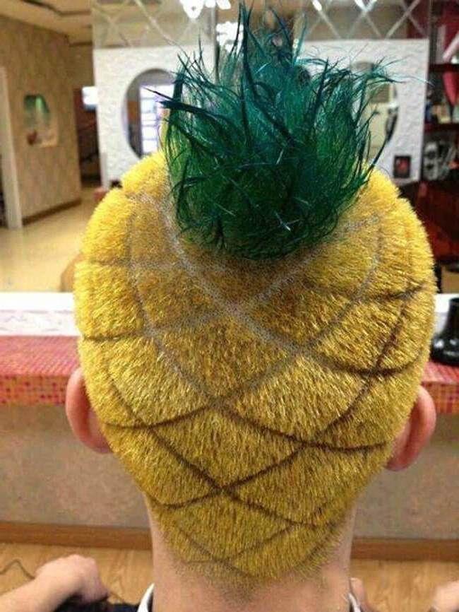 peinados-más-raros-en-forma-de-pina