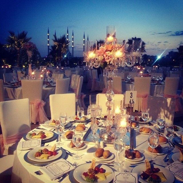 Great summer weddings at Sheraton Adana Hotel