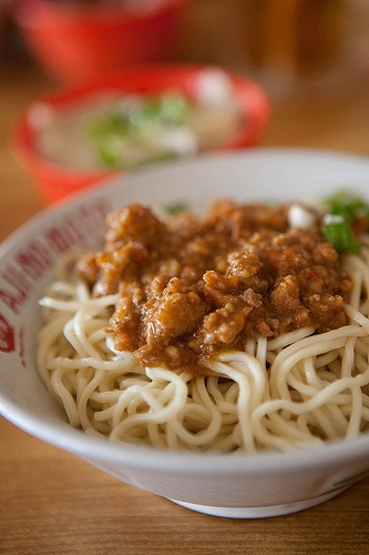Bakmie Rica Babi Kejaksaan by kazeeee, via Flickr