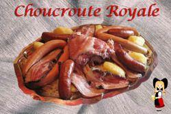 Choucroute Royale pour 4 et plus | La Ferme du Bio