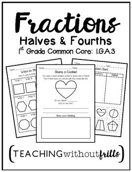 Top 25+ best Fraction activities ideas on Pinterest