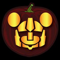 Transformers Mickey Mouse - Pumpkin Stencil