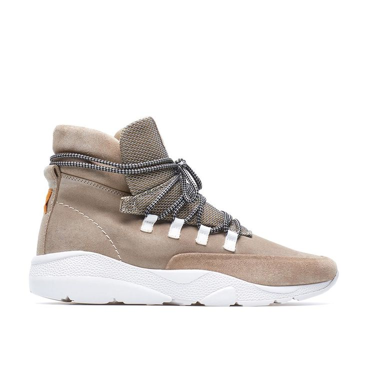 Daze sneaker from the F/W2016-17 Casbia collection in sand