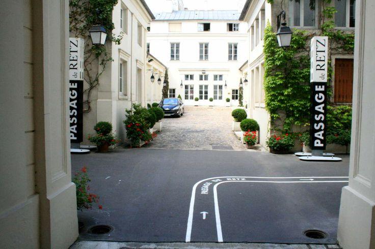 Hôtel de Retz - Passage de Retz