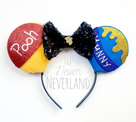 Winnie the Pooh Inspired Ears Winnie the Pooh by ToNeverNeverland