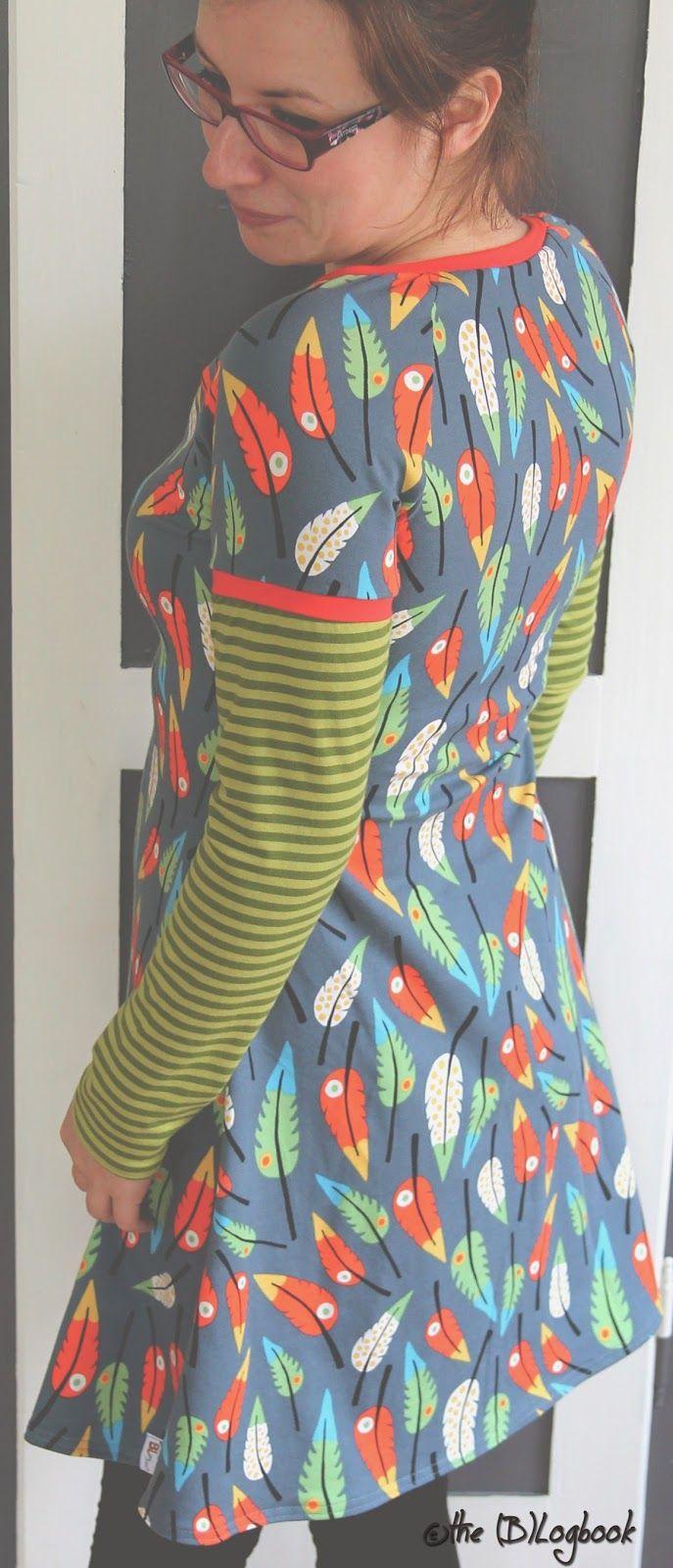 The (B)Logbook: designliebe: pluma von Lila-Lotta I neuer Schnitt von Das Milchmonster: Kleid Toni