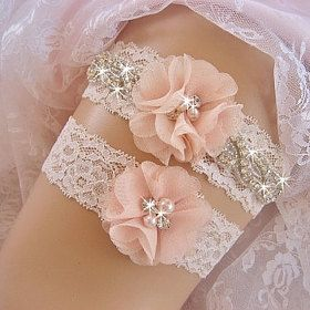 Wedding Garters Flower Girl Baskets Ring Bearer