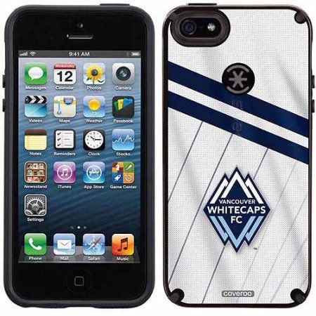 Vancouver Whitecaps FC Jersey Design on Apple iPhone 5SE/5s/5 CandyShell Case by Speck