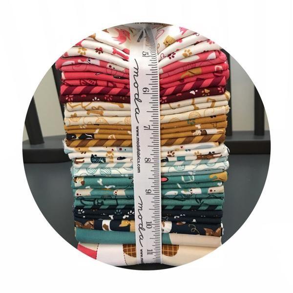 33 Fat Quarter Bundle - Woof Woof Meow Collection - Moda Fabrics – Pins & Needles Fabrics