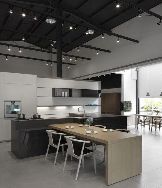 17 Hervorragende Beispiele für die Dekoration moderner Küchen