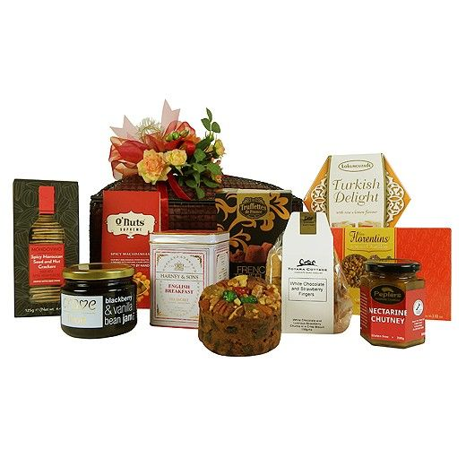 12 best gourmet gifts images on pinterest gourmet gift baskets flavoursome favourites gift hamper bestow auckland new zealand negle Gallery