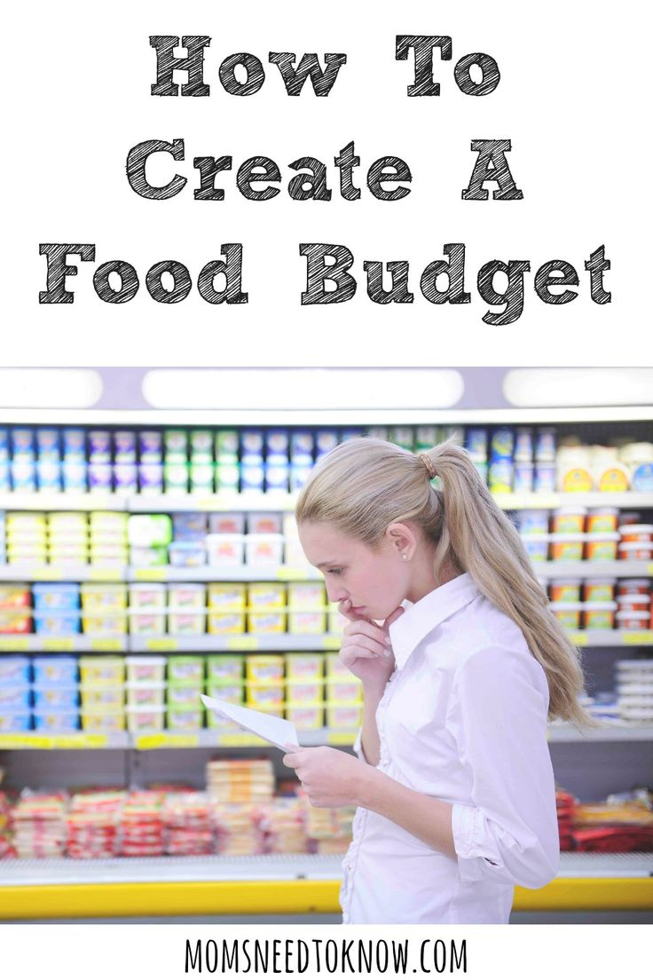 Budgeting is the best way to get control of your finances. You should already have a household budget, but you really need to figure out your food budget!