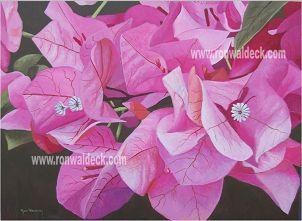 Ron Waldeck, Pink Bougainvillea