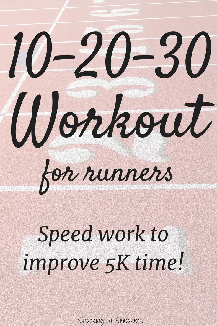 10-20-30 training is an interval training method that can be used by runners to improve 5K performance! Here's research and workout description ...