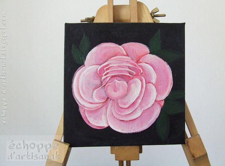 peony https://www.etsy.com/listing/197301550/peony-oil-painting?