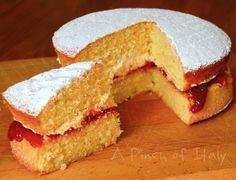 Victoria Sandwich o Victoria Sponge Cake