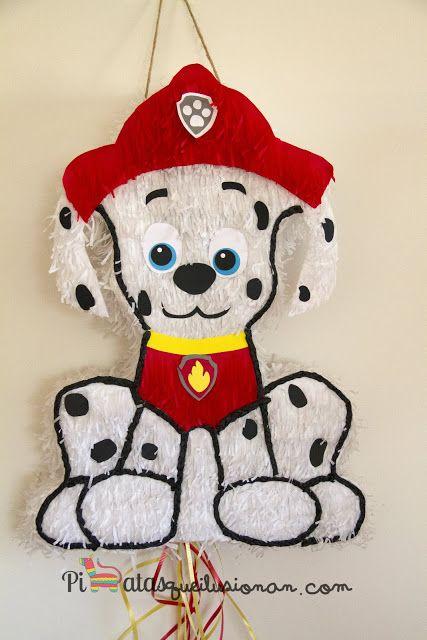 Piñata Marshall de la patrulla Canina