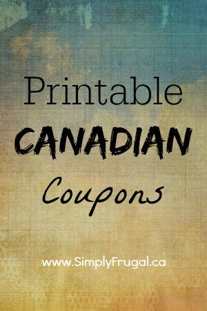 Here you will find a list of all the printable Canadian coupons that I know of.  The list will be updated frequently. Groceries: Save $1.00 off Wholly Guacamole or Salsa product (expires: depends when you print it) Save $5.00 when you buy 3 boxes of 12,...