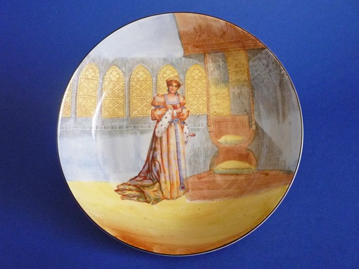 Royal Doulton Shakespearean Characters 'Katharine' Series Ware Dish c1920