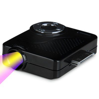 Innovative Compact Portable MINI Projector-85.42 and Free Shipping| GearBest.com
