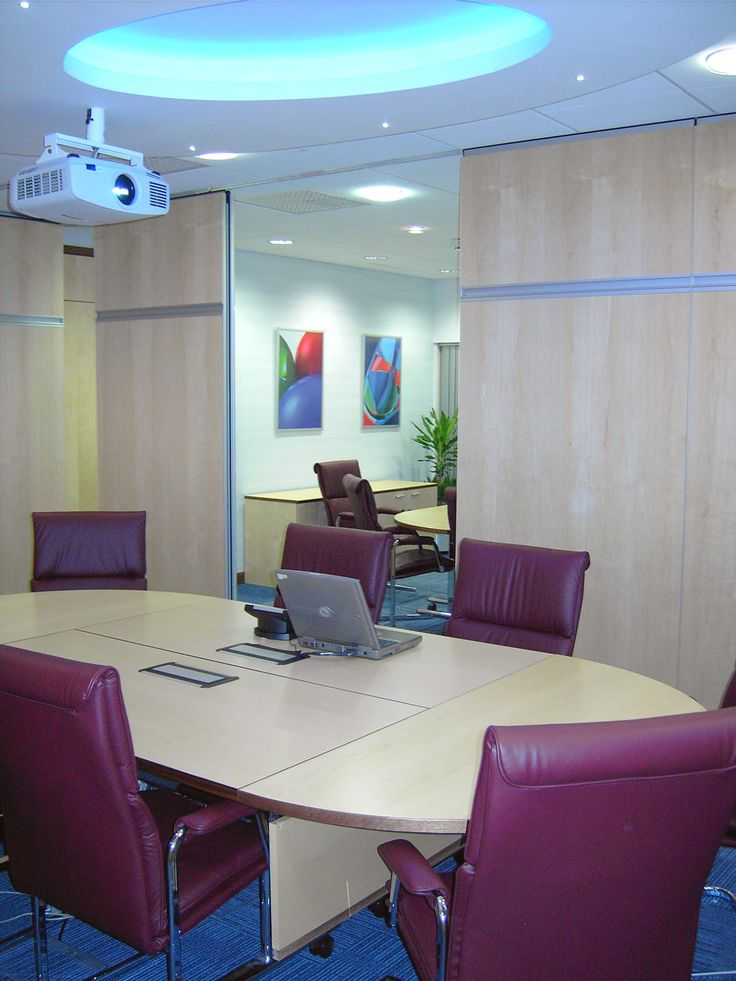 Coda Harrogate, training rooms with bi-fold wall partly closed