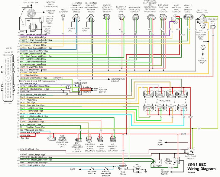 [SCHEMATICS_4FD]  Pin on Wiring Chart Picture | 1990 Ford Mustang Wiring Harness |  | Pinterest