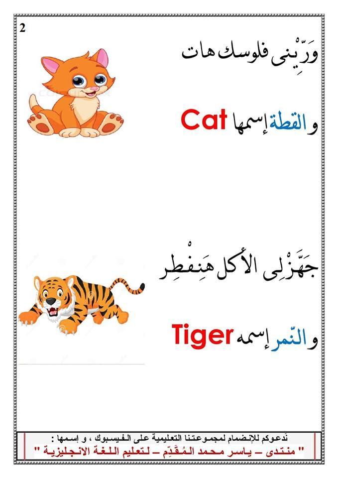 أغنية أسماء الحيوانات باللغة الانجليزية تعليم اللغة الانجليزية عبارات مفردات جمل ومصطلحات مترجمة Learn English Animals Learning