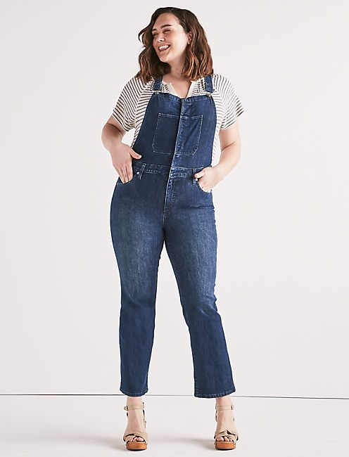 8ab2be33dca Bridgette Crop Flare Jean Overall in 2018