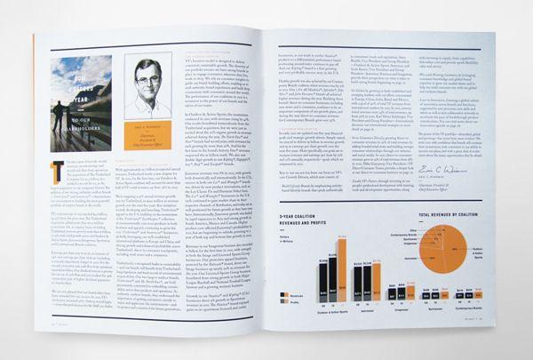 VF Corporation 2011 on Editorial Design Served