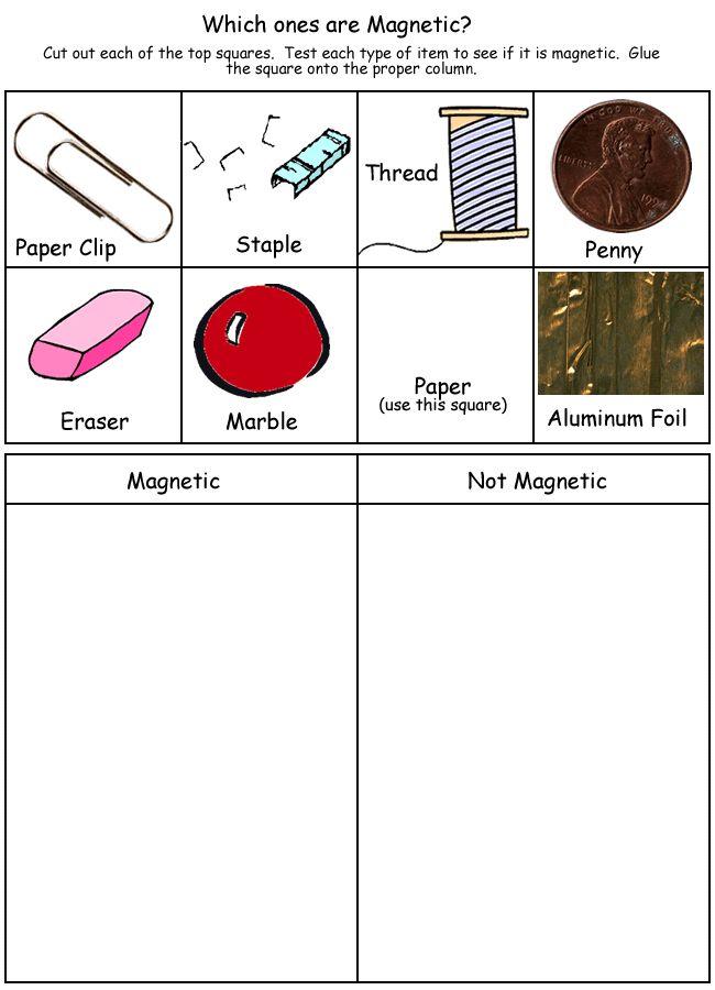 Collection of Magnetism Worksheets For Kids - ommunist