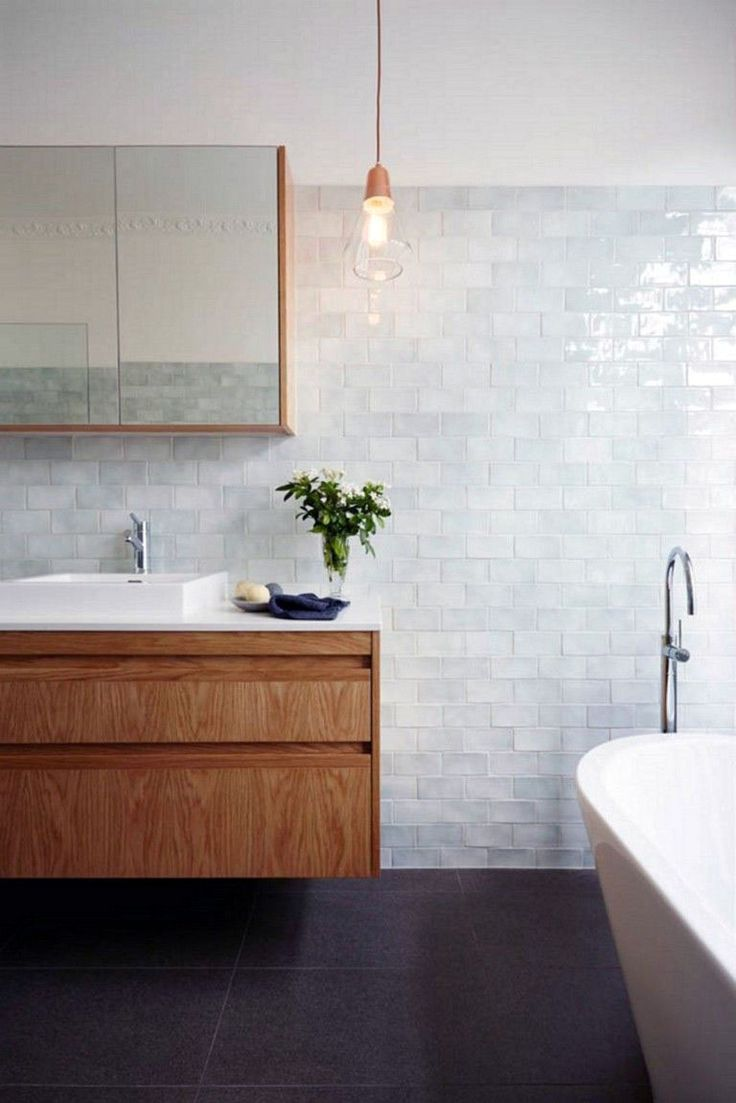 15 Bathrooms With Amazing Tile Flooring House Modern