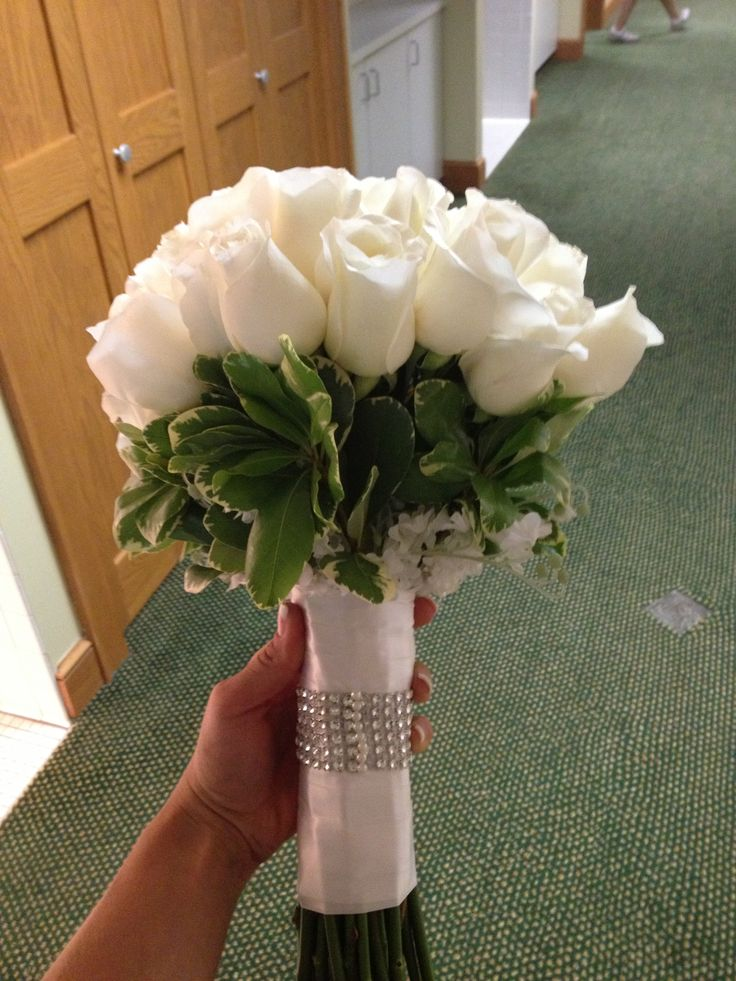 My Wedding Day Bouquet Ordered Flowers From Sams Club Opened Up Beautifull