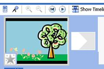 Edit video clips in Windows Movie Maker timeline - Image © Wendy Russell
