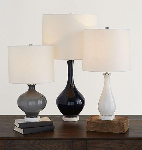 Colored glass table lamps rejuvenation