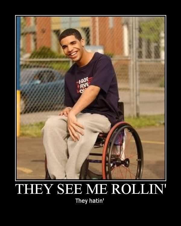 "The obligatory ""Wheelchair Jimmy"" meme: 