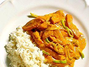 Korvpanna med curry
