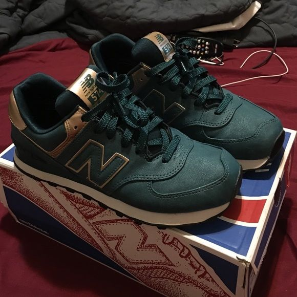 online store 03f03 5aa2b ... New Balance 574 Rare 574 new balance . They are Turquoise with rose  gold lining !