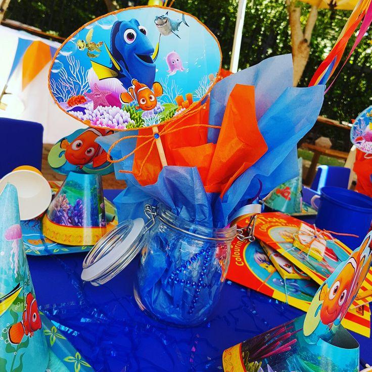 Nemo & Dory Centrepieces