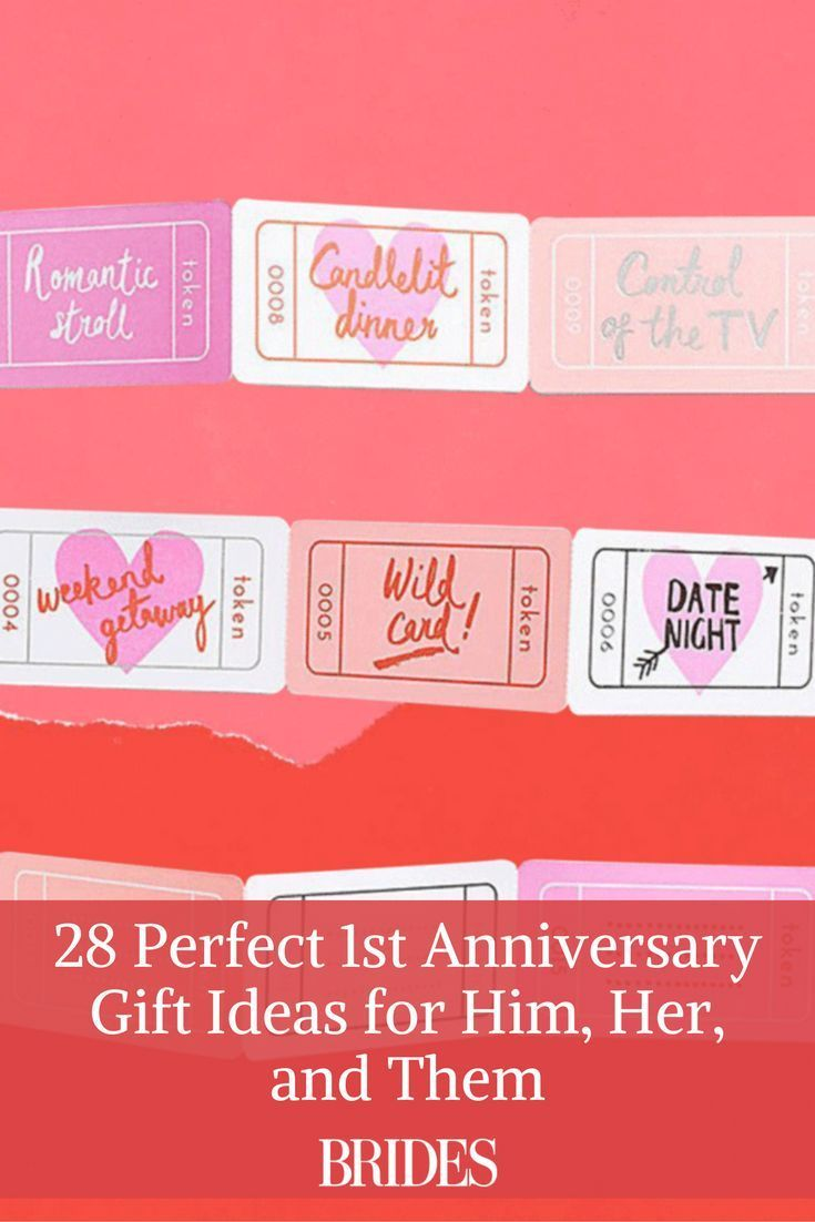 28 Perfect 1st Anniversary Gift Ideas For Him Her And Them 1st