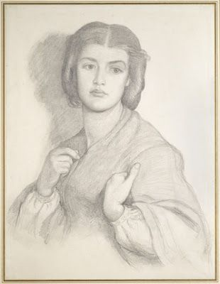 Portrait of a Woman by Dante Gabriel Rossetti