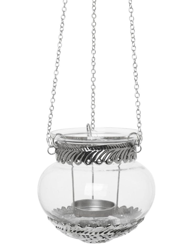 MANDALA ljuslykta clear | T-light hanging | Ljus & lyktor | Inredning | INDISKA Shop Online