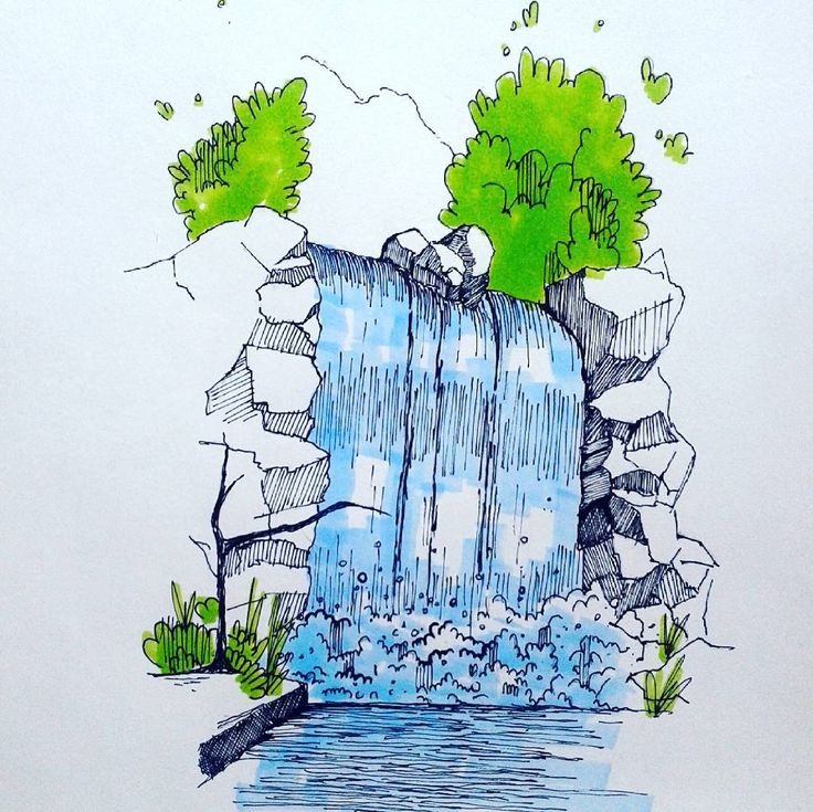 #sketch #sketchbook #draw#art#artwork#instaartist #instadraw #insataart #lifedrawing#çizim#paper #artgallery #artist #drawing #picture #pencil #pencils #graphic#lovedesign #love#paints#colour#artsy#instagood #sketching#paints#painting #sanat#waterfall#markers