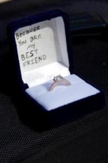 """""""Because you are my best friend"""" THAT'S what it's about :) I would bawl my eyes out!"""