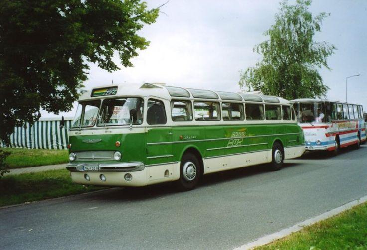 vintage bus ikarus   Zur ck zur FotoGalerie Bustypen Historische Busse Ikarus Ikarus 55 in