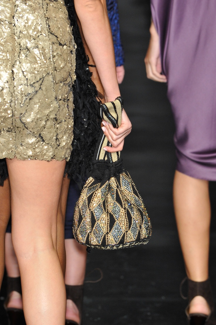 #SilviaTcherassi Fall Collection 2010 #fashion #style #dress #runway #mochila #accesories