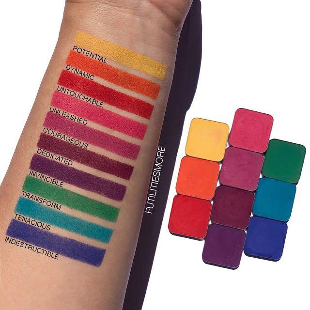 Makeup Geek Power Pigments Pictures And Swatches Futilities And More Makeup Geek Swatches Makeup Geek Eyeshadow Makeup Geek