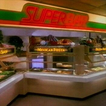 Our closest Wendy's had a SuperBar, too.
