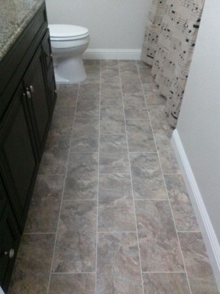 Vinyl Bathroom Tiles